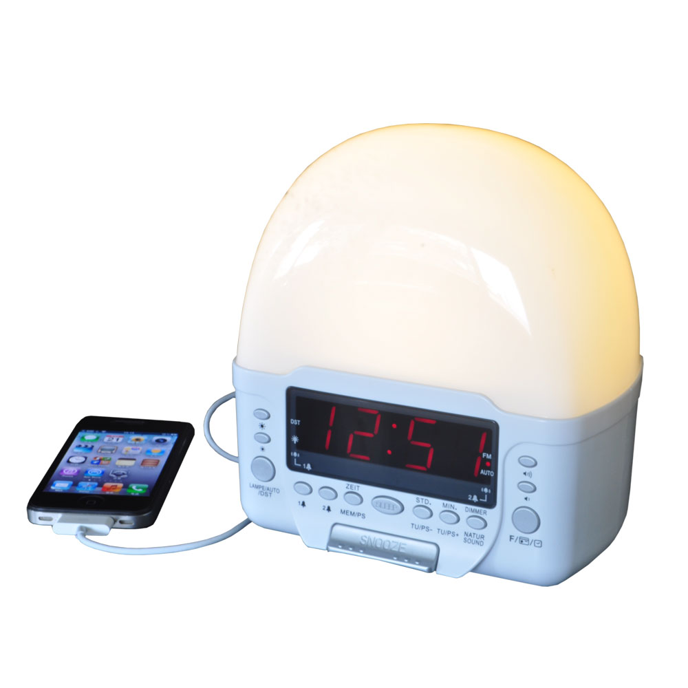 Clock Radio With Usb Charger Entry Class Clock Radio